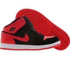 Air Jordan 1 Phat (black / siren red / white) 364773-017 - $44.99