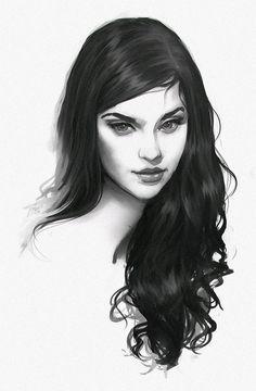Girl Character Drawing Illustration