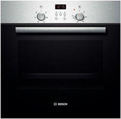 Bosch HBN532E0F four – fours (Intégré, Electrique, A+++-20%, Noir, Acier inoxydable, boutons, Rotatif, Devant)