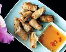 Crab-and-Pork Spring Rolls Recipe  | Epicurious.com