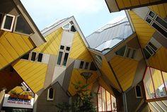 Cube houses, Rotterdam.