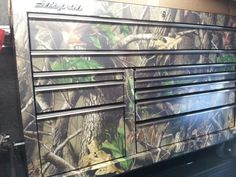 My new camo snap on tool box
