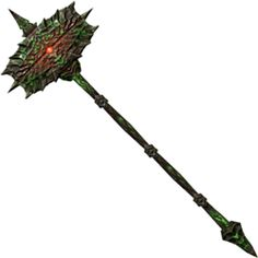 Volendrung is a unique two-handed weapon that was forged by the Dwemer and belongs to the Daedric Prince Malacath. Also known as the Hammer of Might, it absorbs fifty points of Stamina per hit. It is essentially a giant stamina sponge, as many two-handed weapons use a lot of stamina for their power attacks.