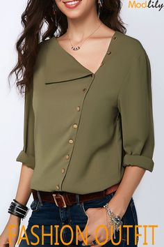 Stylish Tops For Girls, Trendy Tops, Trendy Fashion Tops, Trendy Tops For Women Trendy Tops For Women, Blouses For Women, Women's Blouses, Blouse Styles, Blouse Designs, Casual Outfits, Fashion Outfits, Cheap Fashion, Mode Hijab