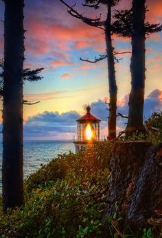 https://flic.kr/p/nojv6p | Heceta Head #Lighthouse | Wow! Highest Position Explore #7 April 27, 2014 - http://dennisharper.lnf.com/