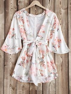 SHARE & Get it FREE | Floral Print Plunging V Neck RomperFor Fashion Lovers only:80,000+ Items • New Arrivals Daily Join Zaful: Get YOUR $50 NOW!