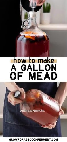 Mead Wine Recipes, Homemade Wine Recipes, Mead Recipe, Homemade Alcohol, Alcohol Recipes, Drink Recipes, Honey Mead, Fermented Honey, How To Make Mead