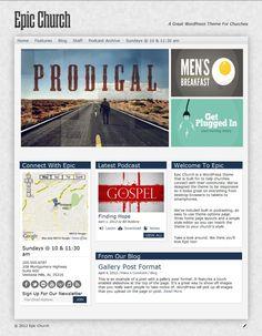 Epic WordPress Theme - Organized Themes
