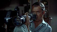Exacta VX in the film Rear Window