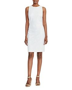 Lauren Ralph Lauren Geometric Lace Sheath Dress | Bloomingdale's