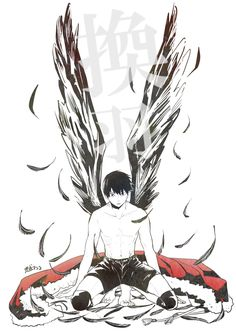This is a beautiful fan art! Kudos to the creator!    / Haikyuu / hq / Kageyama / King of the Court / Karasuno /    ハイキュー!!ログまとめ⑬ [19]