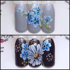 1,413 отметок «Нравится», 51 комментариев — Nailart/manicure instuctor (@tatiana_vishinskaya) в Instagram: «С ромашкой или без?»