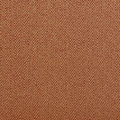 Orange And Gold Small Herringbone Chevron Upholstery Fabric By The Yard