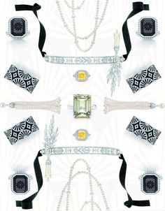 Tiffany & Co. for the Great Gatsby jewelry collection