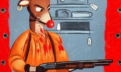 Tarantino Christmas Cards Are For The Inglourious Basterds On Your List