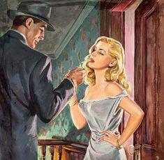 "Howell Dodd, ""Free and Easy,"" paperback cover art, Pop Art Vintage, Vintage Romance, Retro Art, Romance Arte, Arte Pulp Fiction, Comics Vintage, Pulp Art, Horror Art, Aesthetic Art"