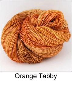 Meow Yarn Collection orange tabby