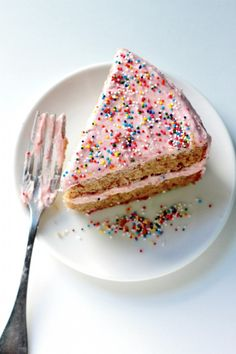 Raspberry Rose Layer Cake