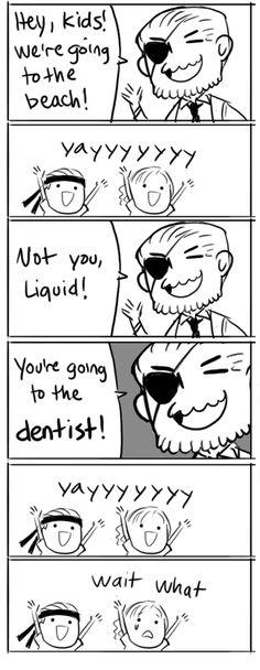 Hiimdaisy MGS bonus comics  Poor Liquid