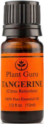 Tangerine Essential Oil. 10 ml. 100% Pure, Undiluted, Therapeutic Grade. Plant Guru http://www.amazon.com/dp/B00GLZBH9G/ref=cm_sw_r_pi_dp_8cOaub08VGMTQ
