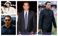 Ravi Shastri- former Indian crickter & captain's birthday today  Wishing him a very HAPPY BIRTHDAY