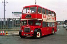 Preserved Fife Lodekka FRD 199 is seen in Glasgow in Routemaster, Double Decker Bus, Bus Coach, London Bus, London Transport, Bus Station, Diesel Locomotive, Busses, Park Avenue