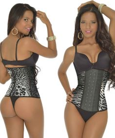 2fffd4f9b1 Now available - Tiger Print Long Workout. Order online at BodyCinchers.com  Body Girdle