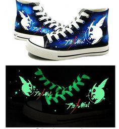 Akame ga KILL! Anime Night Raid Logo Cosplay Shoes Canvas Shoes