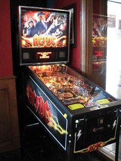 Arcade Game Machines, Arcade Machine, Arcade Games, Pinball, Dc Pro, Ac Dc, Game Room, Video Game, Nostalgia