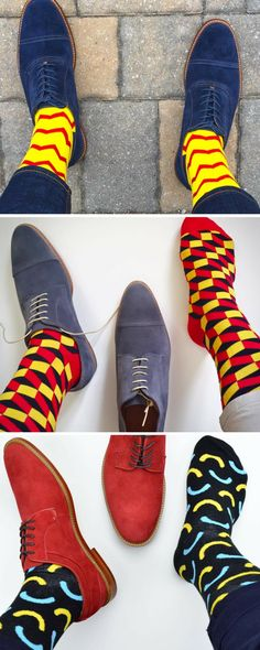 Jump - start your week the Soxy way! Soxy.com designs the coolest, most fun dress socks.