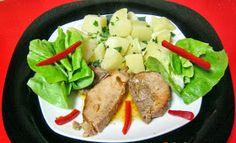 In Bucatarie La Sidy: Friptura( cotlet) de porc copt in zeama de varza ( moare) Multicooker, Chicken, Kai