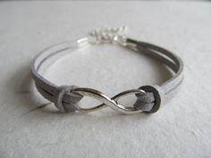 Infinity Bracelet Infinite Love Bracelet Charm by ShopYvonne