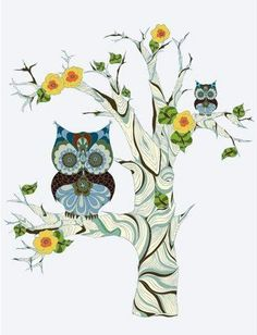 'Cool Owls' by Piia Podersalu