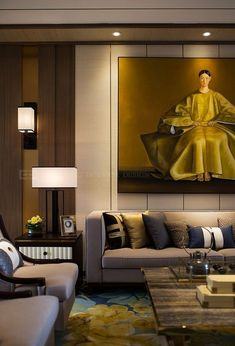 New Living Room Paint Ideas Yellow Coffee Tables Ideas Living Room Paint, New Living Room, Living Room Interior, Kitchen Interior, Interior Chino, Living Room Modern, Living Room Designs, Decoration Inspiration, Inspiration Design