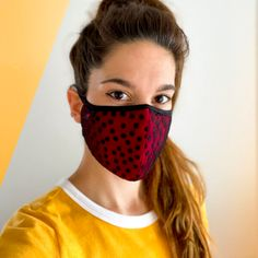 Mimi Rose Wrap Crop Top – Tango With Love Lace Mask, Fashion Face Mask, Layered Tops, Tie Colors, Stretch Lace, Workout Tops, Soft Fabrics, Casual Wear, Polka Dots