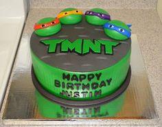 teenage muntant ninja turtle cake | Teenage Mutant Ninja Turtles Cake | Party Ideas