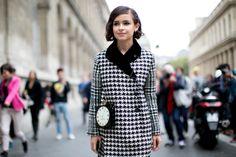Street fashion: najlepsze stylizacje Paris Fashion Week, cz. 1 (Mira Duma) / fot. Imaxtree