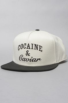 """Crooks and Castle """"Cocaine and Cavier"""" snapback at Karmaloop.com Use REPCODE:SAVE95 when checking out to save 20% off your entire order. Follow me on twitter: KieranKarmaloop for savings updates. Share the code, Share the savings! karmaloopdiscountcodes.net"""