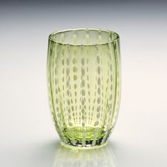 Green Perle Tumbler from Color Of The Year 2017, Pantone Color, Tumbler, Glass Vase, Tableware, Home Decor, Colour, Green, Color