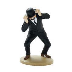 Figura Dupont con sombrero Tintín / Moulinsart - Hergé - Rian de Rian