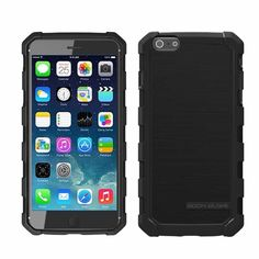 NEW Body Glove Dropsuite Series Retail Package  iphone 6 plus 5.5 Black 9459202