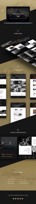 Creature - Unique MultiPurpose Portfolio WordPress Theme • Download theme ➝…