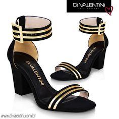 Os detalhes dourados são Fashion e combinam com tudo! ❤️☺️ Ref. 595 02410  #divalentini #moda #dvwinter #love #shoes #shoesdv