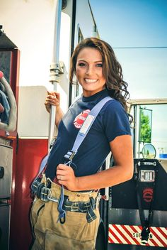 Senior Photography by UrbanOwl Photography, Future Female Firefighter, Senior Picture Idea