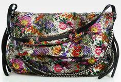 92252617a0e3 jimmy choo floral python biker shoulder bag Designer Purses