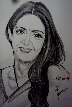 English Vinglish - Sketching by Naveen Singh in Sketchings at touchtalent