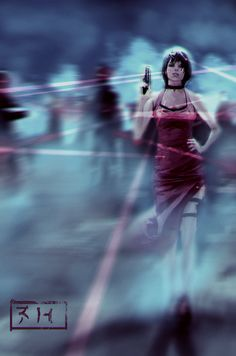Ada Wong by AITUARMANAS