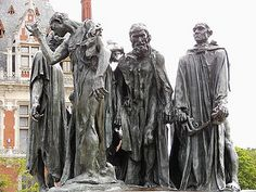 Six Burghers of Calais, Rodin by www.thegoodlifefrance.com, via Flickr