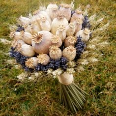 Mé milé makovice v kytici... Meadow Flowers, Dried Flowers, Flower Factory, Country Wedding Flowers, Floral Room, Bouquet, Dry Plants, Autumn Lights, Pumpkin Crafts