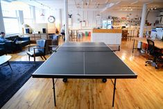 Betterment ping pong table (here ya go, Chris M.)